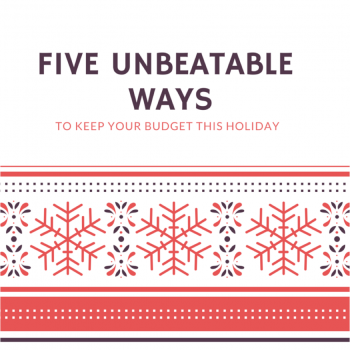 How to Keep Your Budget this Holiday
