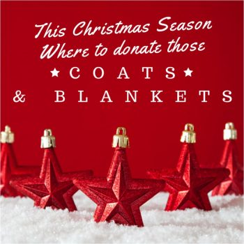 Where to donate extra coats and blankets this Christmas season