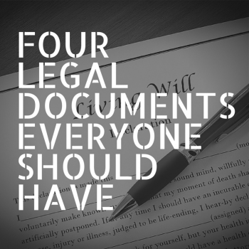 Legal Documents Everyone Should Have