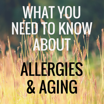 What You Need To Know About Allergies and Aging