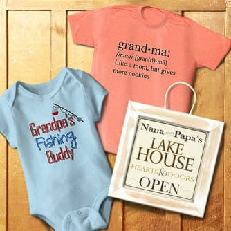 Grandparent Baby Gifts