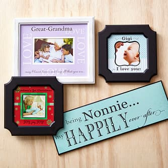 Grandparent Gift Picture Frames