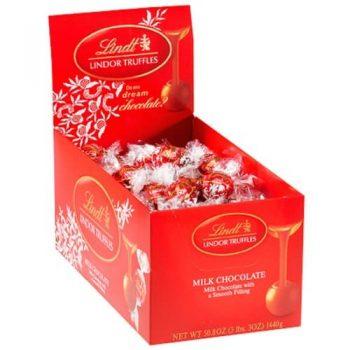 Lindt LINDOR Milk Chocolate Truffles