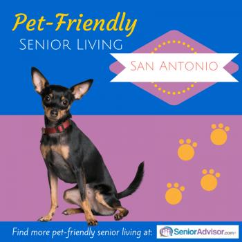 Pet-Friendly Senior Living in San Antonio