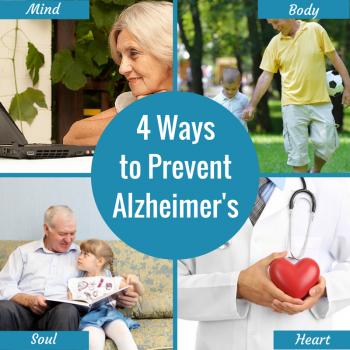 4 Ways to Prevent Alzheimer's