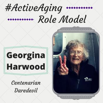 Active Aging Role Model Georgina Harwood