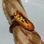 Colorful Corn Husk Napkin Rings
