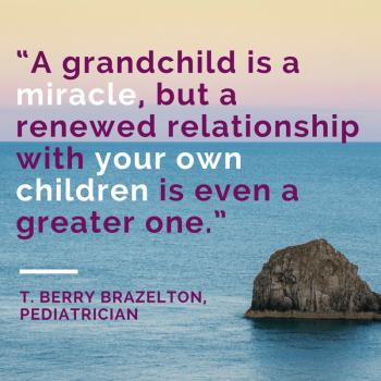 Grandparent Quotes T Berry Brazelton a grandchild is a miracle