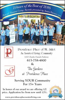 Providence Place of Mt Juliet Web Ad