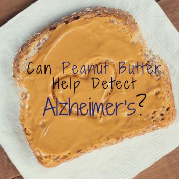 Alzheimer's Peanut Butter Test