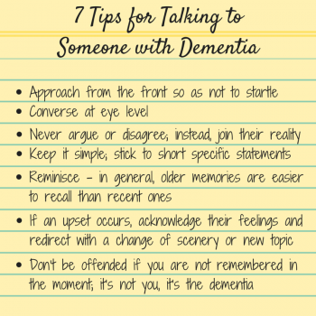Dementia and the Holidays