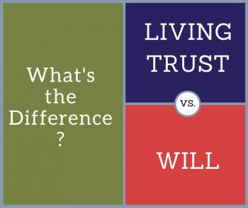 Living Trust vs. Will