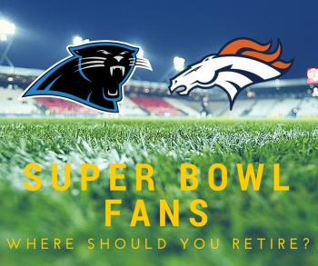 Broncos vs. Panthers - Super Bowl Fans, Where Should You Retire-