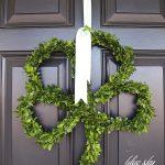 Four Leaf Clover Wreath