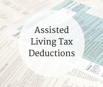 Assisted Living Tax Deductions