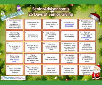 SA's 25 days of senior giving