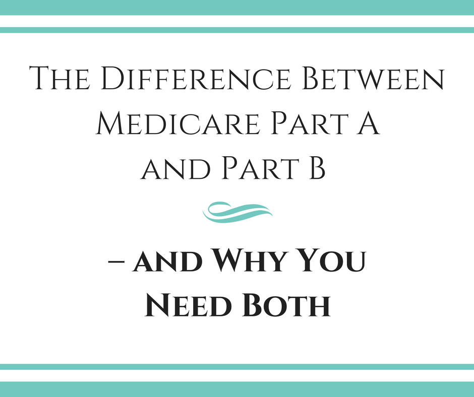 The Difference Between Medicare Part A and Part B – and Why You Need Both