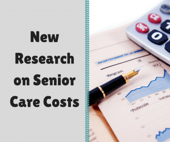 New Research on Senior Care Costs
