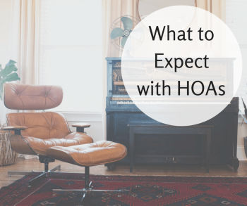 What to Expect with HOAs