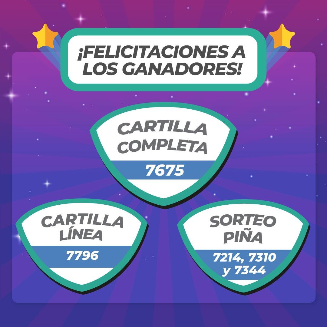 Winners Domingo 12 de Setiembre