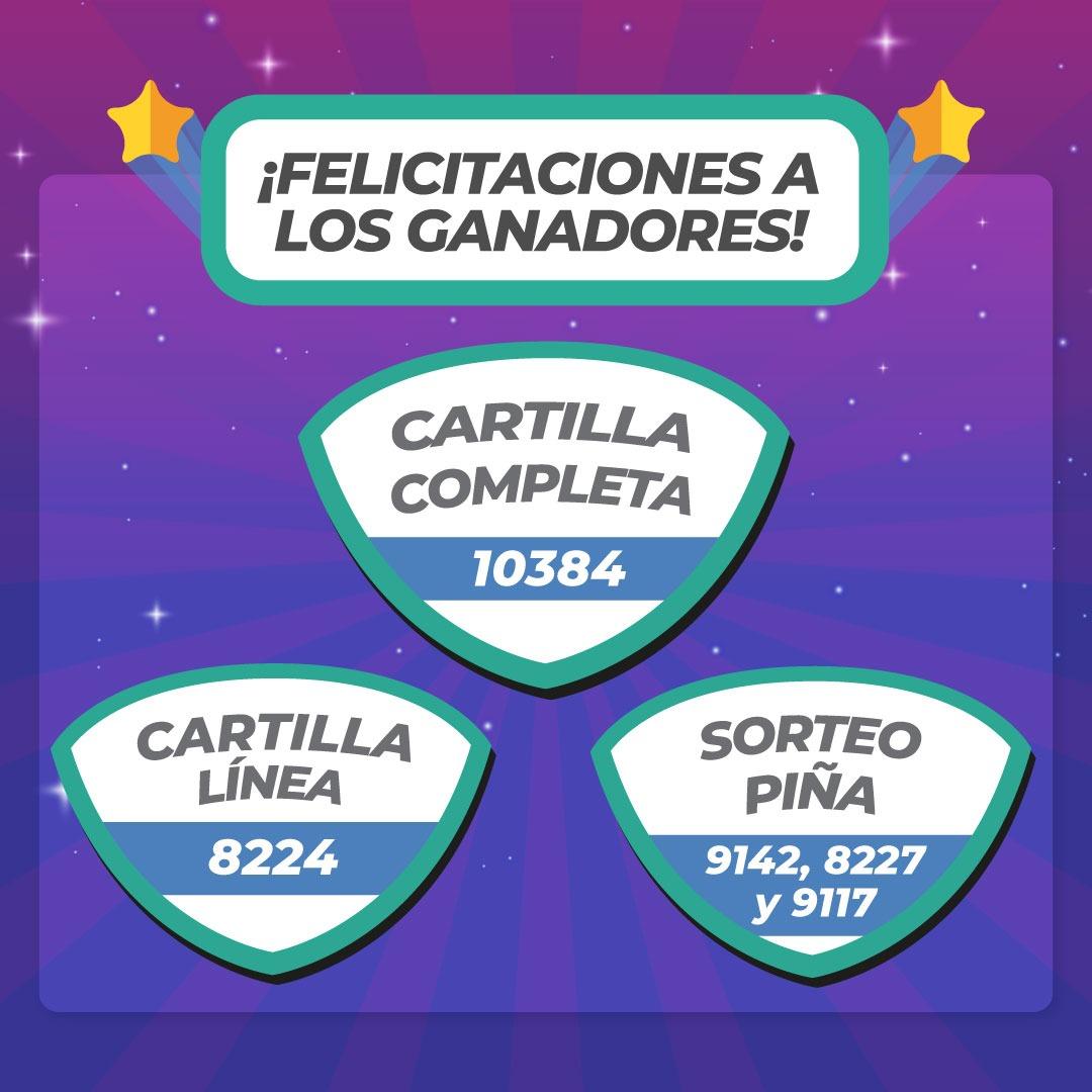 Winners Domingo 19 de Setiembre