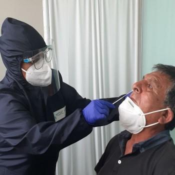 Prueba de antígenos Hisopado Nasal Cuantitativa y Cualitativa