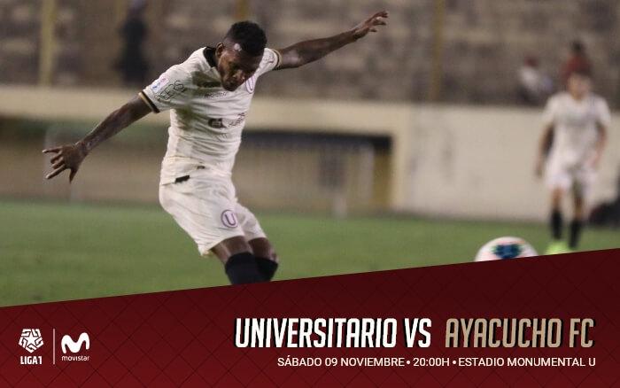 Universitario vs. Ayacucho FC   Clausura 2019 - Fecha 15
