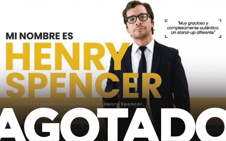 Mi nombre es Henry Spencer