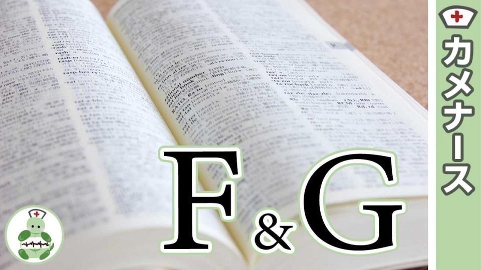 ファウラー位は医療英語で何?USAナース英語集:頭文字:F&G