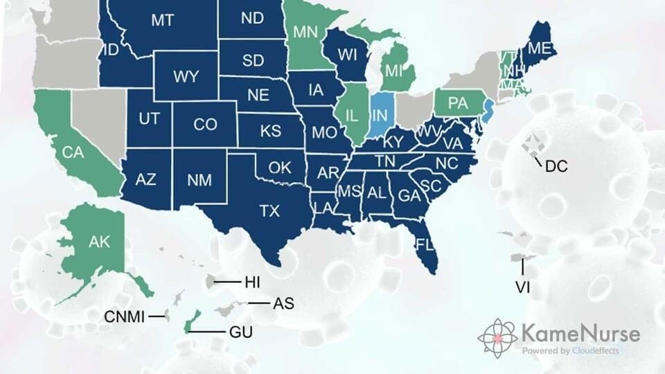 【最新】新型コロナウイルスが変えたアメリカ看護師制度について:NLC