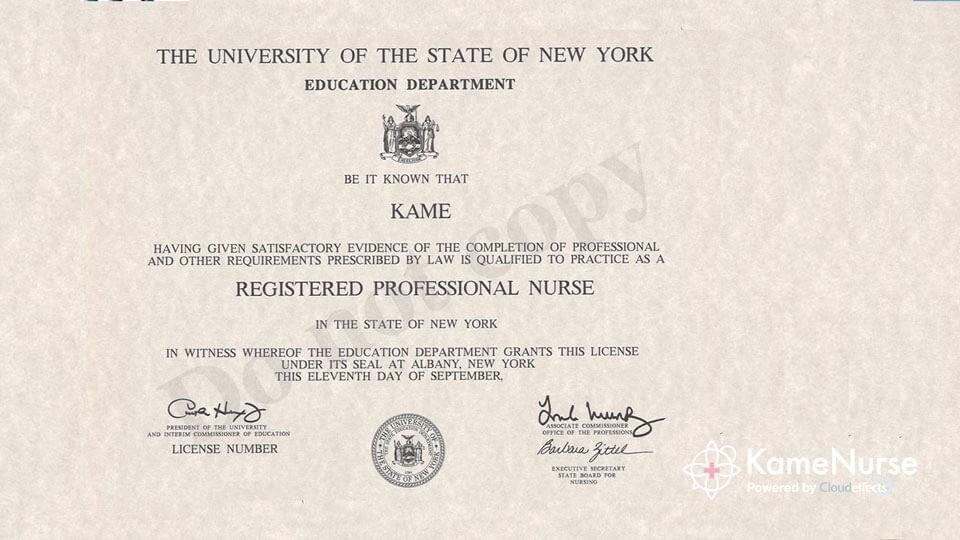 ニューヨーク州アメリカ看護師免許の更新手続き方法