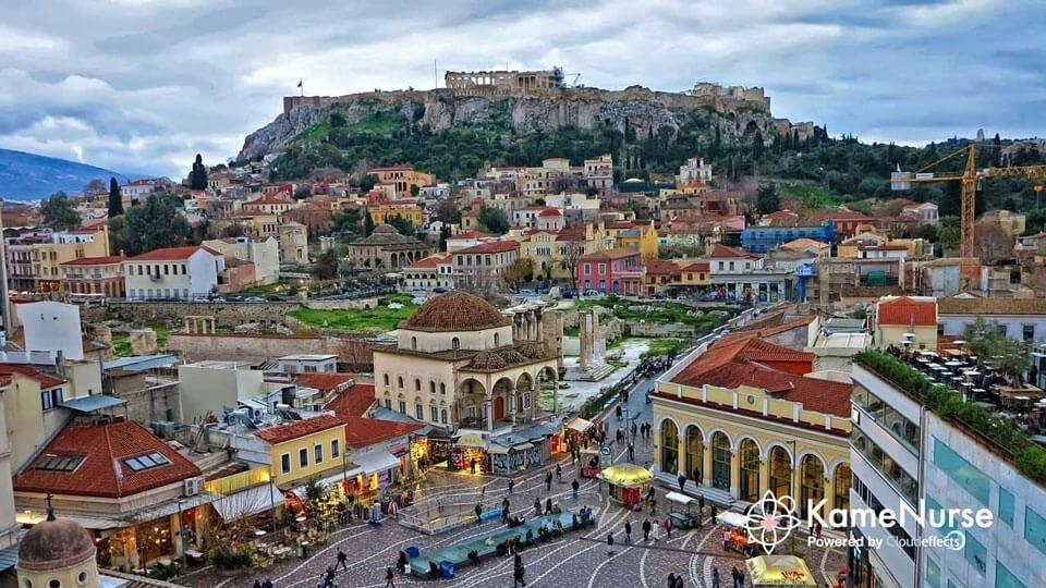 トラベルナース!ギリシャのアテネはパルテノン神殿!看護師への影響