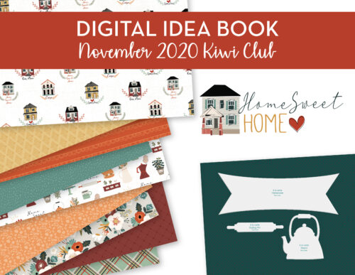 November 2020 Kiwi Club Digital Idea Book Shop Image