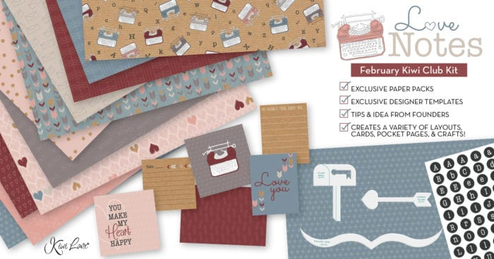 February 2019 Paper Crafting Kit shop image