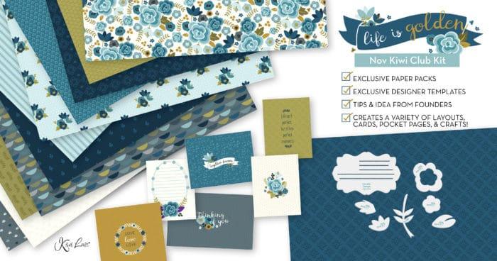 November 2019 Kiwi Club Paper Crafting Kit Shop Image