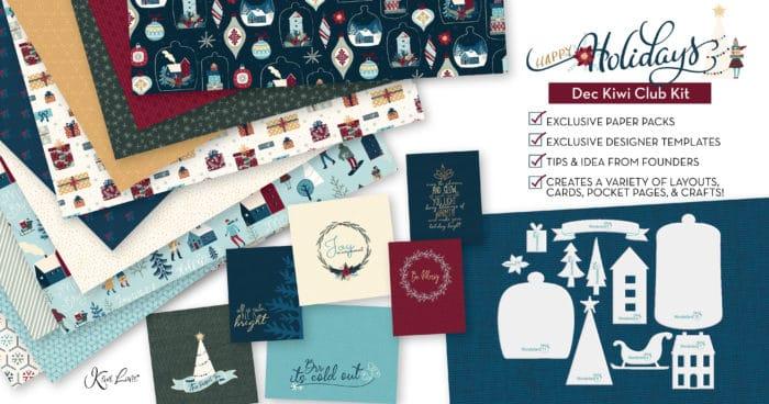 December 2019 Paper Crafting Kit Shop Image