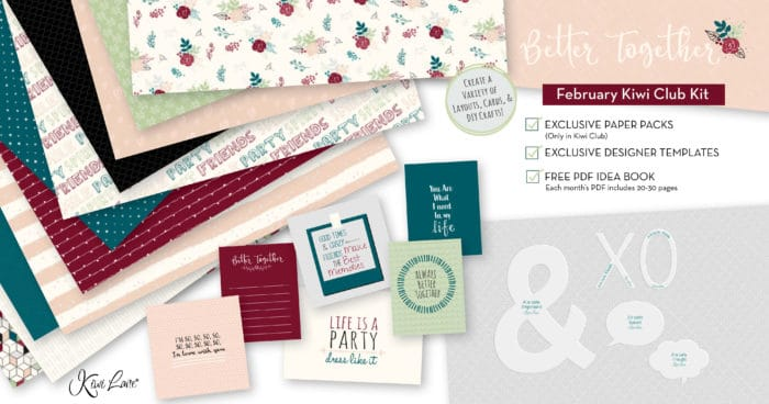 Paper Crafting Kit February 2020 shop image