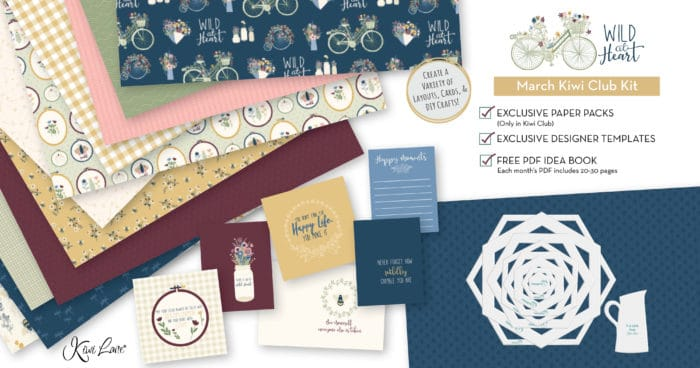 Paper Crafting Kit March 2020 shop image