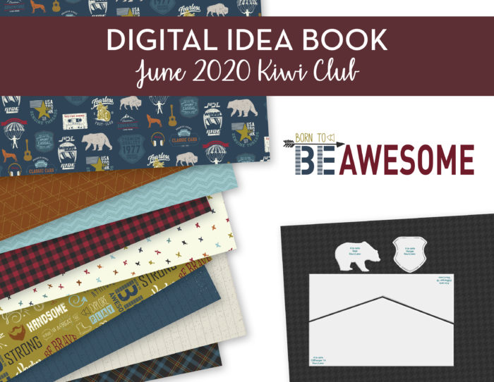 June 2020 Kiwi Club Digital Idea Book Shop Image