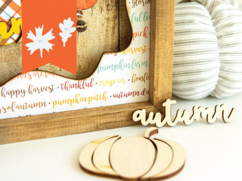 fall autumn snap frame design kit shop image
