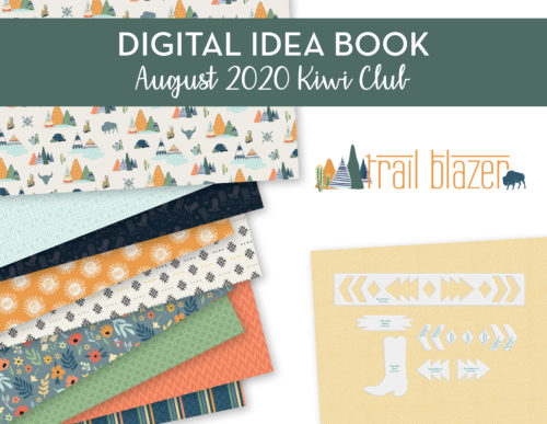 Digital Kiwi Club Idea Book PDF August 2020 Shop Image