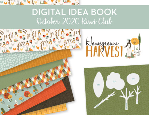 October 2020 Kiwi Club Digital Idea Book Shop Image