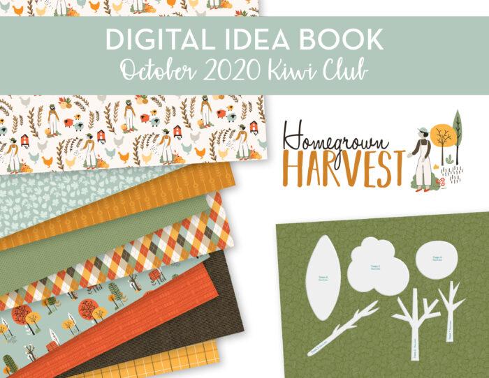 October 2020 Kiwi Club Digital Idea Book Shop Image