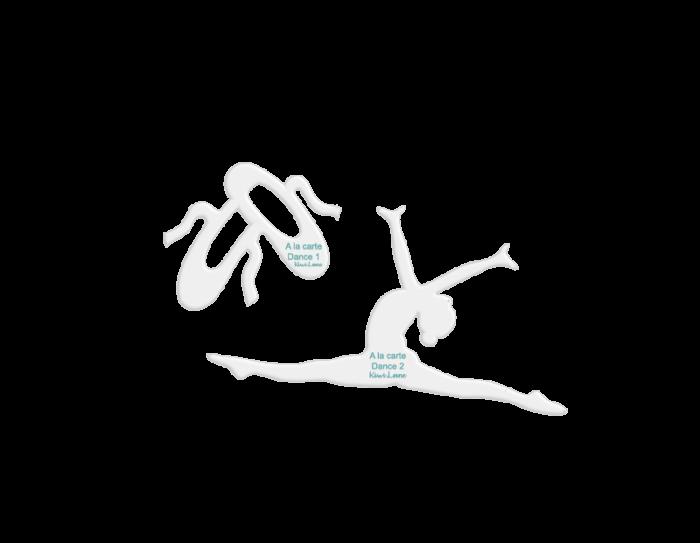 dance a la carte designer template shop image