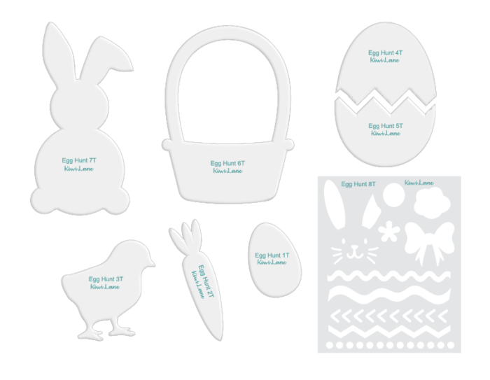 Tiny Egg Hunt Template Only Shop Image