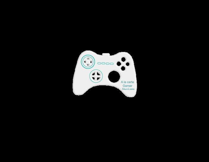 Gamer a la carte designer template shop image