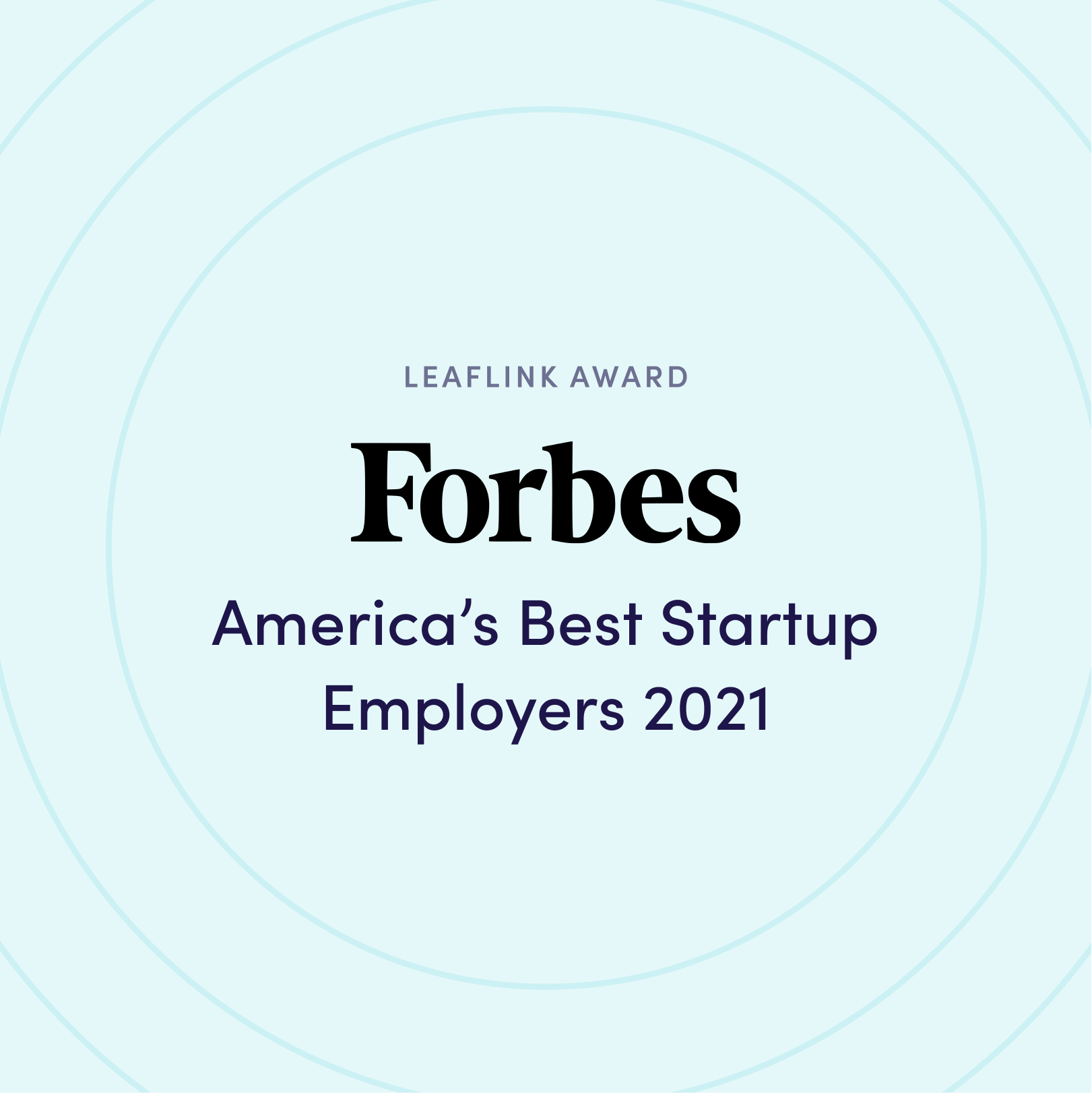 Forbes - America's Best Startup Employers 2021