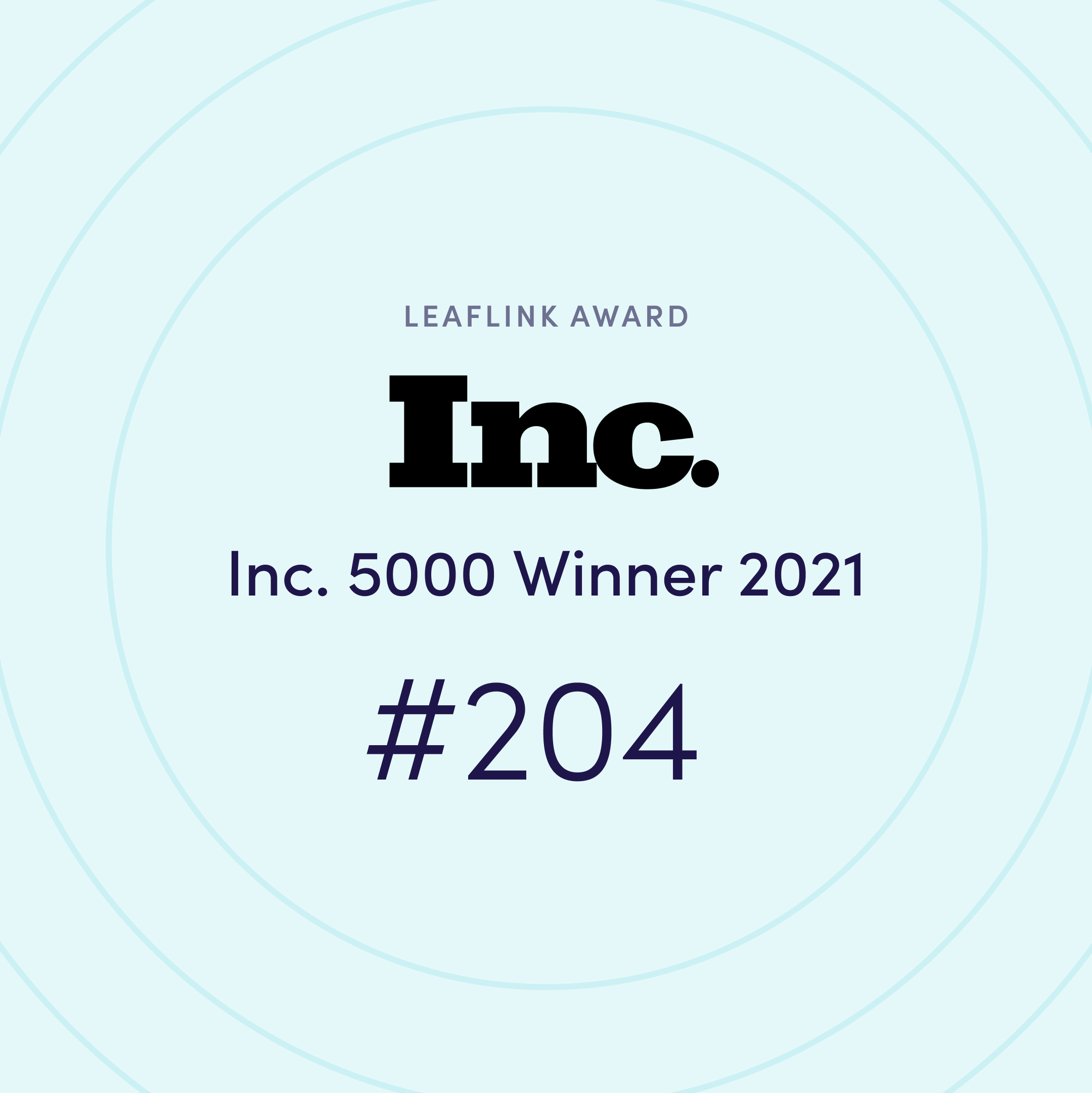 Inc. 5000 - The Top 5000 Fastest-Growing Private Companies in America