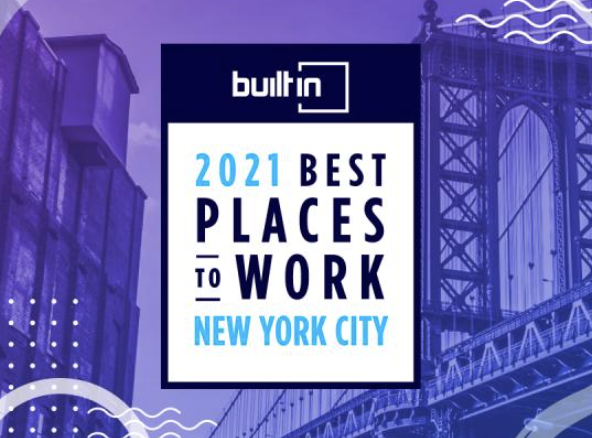Built In — 2021 Best Places to Work in New York City