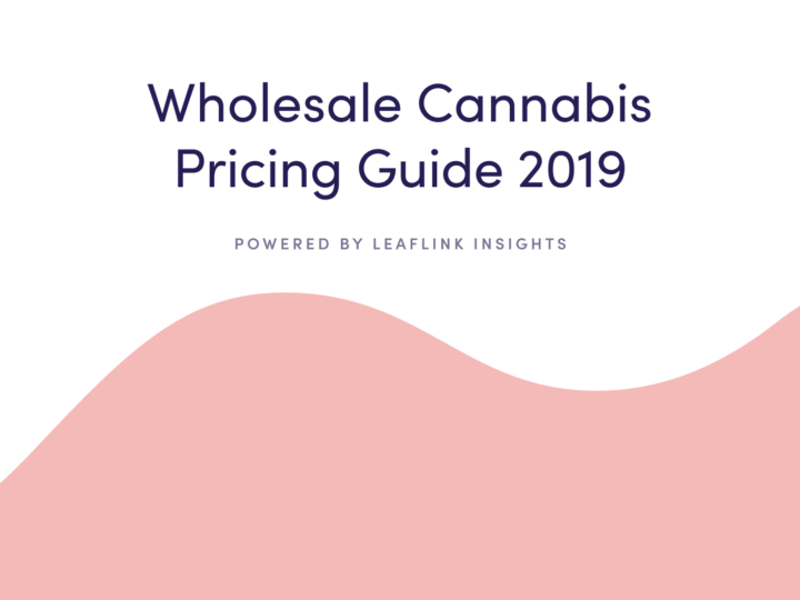 The Wholesale Cannabis Pricing Guide 2019 - Powered by LeafLink Insights